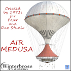 Air Medusa by 1971s is the perfect way to take flight with a large crew in a hot air balloon.