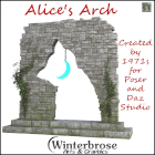 Alice's Arch is just right if you love both cats and archways. Check out this fantastic prop for Daz Studio.