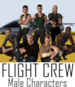 Flight Crew Character Pre-Loads for Genesis 8 Male (G8M) by Winterbrose. This set of seven (7) pre-load character designs was compiled by WAaG to be used with our Flight Crew Poses for Genesis 8 designed for the StarJet vehicle and add-on Cockpit created by Kibarreto. Start your StarJet adventures out right with these scene pre-loads of male characters for the seats available in the cockpit: Captain (Pilot) 1st Officer (Co-Pilot) Chief Comm Engineer Navigator Specialist Security Chief Load Master You must install the required items for each scene pre-load before merging or loading the character into the scene. The Readme file contains all of the items used for each character and the links to their respective product pages.
