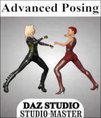 "A wise man once said that ""Knowledge comes from education, but wisdom comes from experience."" Advanced Posing is packed full of the knowledge that you need to get started with posing your characters and figures in Daz Studio. Created with Daz Studio 4.7, it demonstrates how to create your own poses from the simple everyday to professional quality. All that is missing is you and your imagination. You will find that this Studio*Master tutorial covers a wide range of posing related topics, step-by-step instructions and skills exercises to increase your knowledge level, help develop your skill set and increase your experience level. You do not need to have any prior experience with posing to learn posing with this course. This 205-page tutorial is in PDF format and fully illustrated with over 200 images including actual screenshots covering the topics listed below. * Orientation of objects in the 3D Space * The Basics of Posing in any application * Relationships of Bones and Rigging to Posing * Limiting movement to preserve model design * Purpose of Ghost bones for clothing props * Cross-utilization of poses to different figures * Planning your pose and where to begin * Common posing tools and adjustments * Resetting poses and correcting mistakes * Posing with Freehand and Direct Manipulation * Creating standard Content Library folders * Prepping for adequate thumbnail image creation * Saving your partial and full pose creations * Creating and Saving Hierarchical Pose Presets * Packaging your pose files for distribution and much more...Note: Even though this tutorial was designed for use with DAZ Studio, it covers many general posing theories and techniques that are non-program specific and may prove useful in any program that allows users to pose 3D models."
